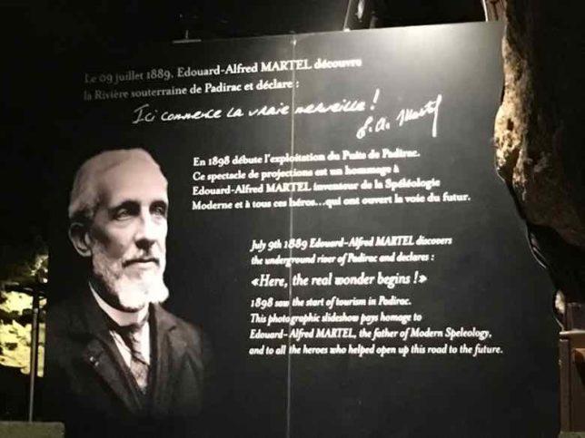 Edouard-Alfred Martel-Gouffre de Padirac (J. Chung)