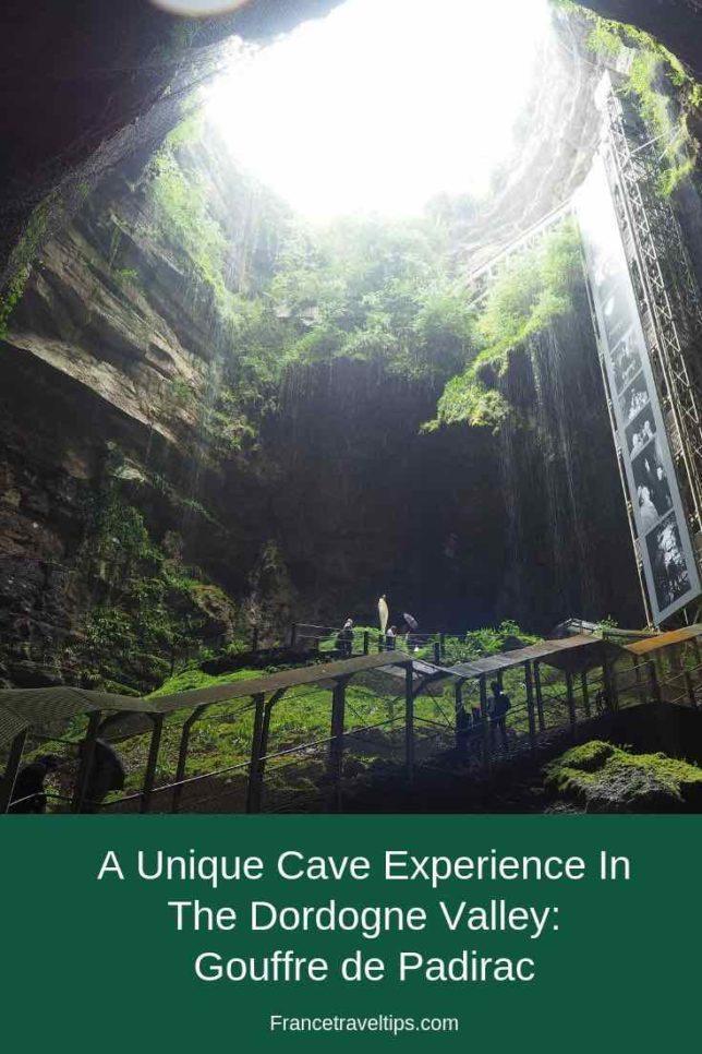 Unique Cave Experience In The Dordogne Valley: Gouffre de Padirac