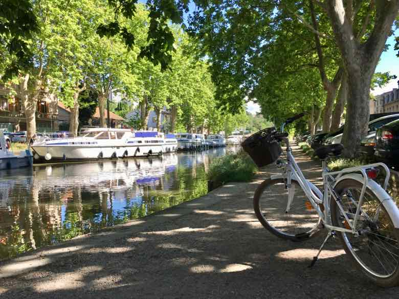 Bike Ride Along The Canal du Midi From Carcassonne (J. Chung)