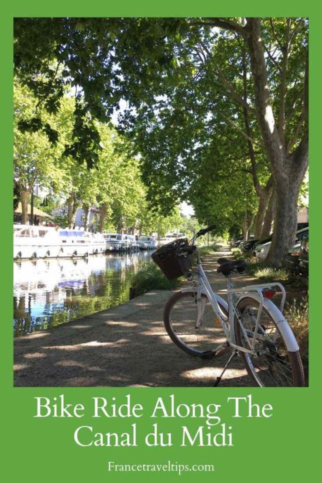Bike ride along the Canal du Midi (Pinterest)