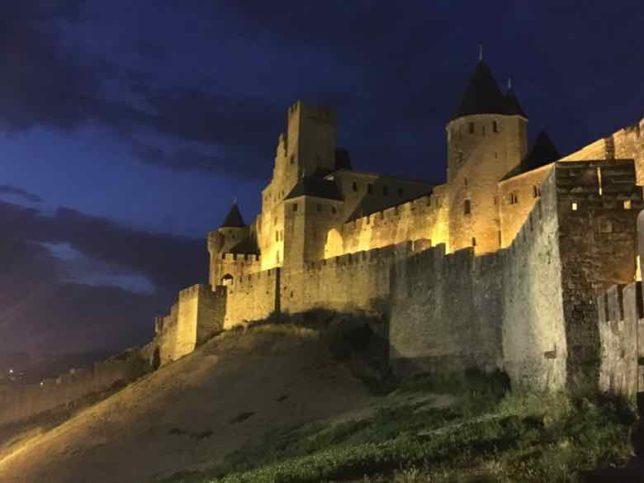 Carcassonne at night (J. Chung)