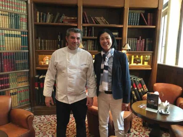 Chef Jerome Ryon and Jan-La Barbacane Carcassonne (J. Chung)
