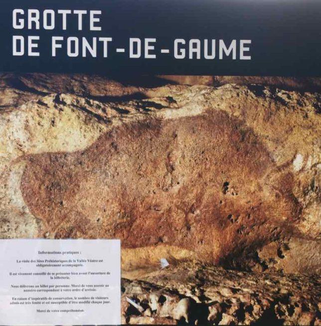Font du Gaume poster