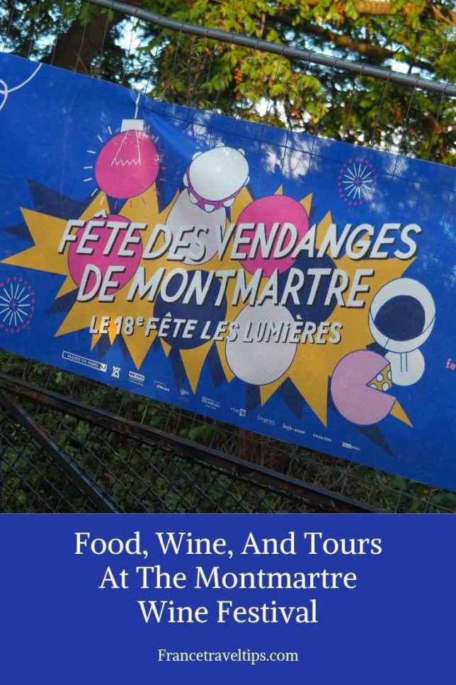Food, Wine, And Tours At The Montmartre Wine Festival