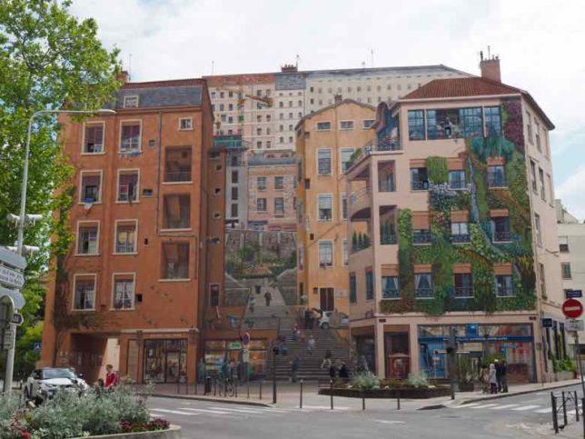 Fresque des Canuts, Lyon (J. Chung)