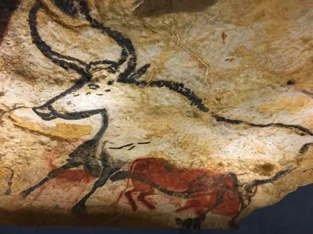 Reproduction of cave painting-Lascaux IV (J. Chung)