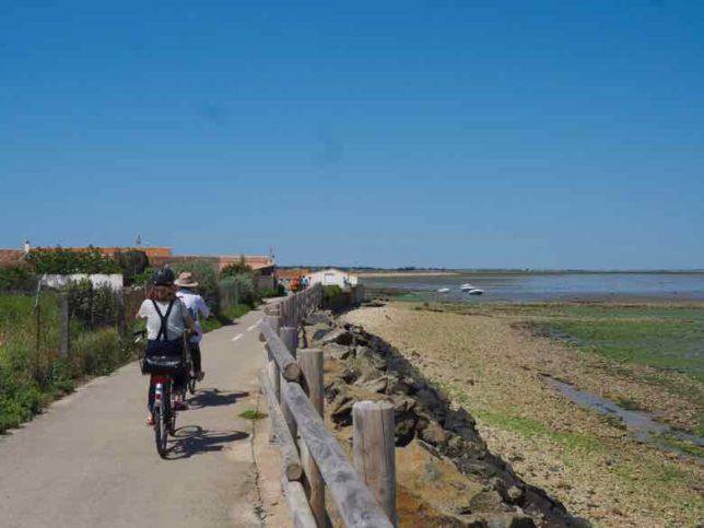 Cycling on Ile de Re (J. Chung)