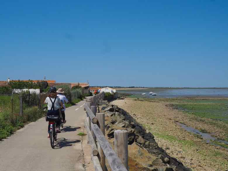 Cycling on Ile de Re (J. Chung)