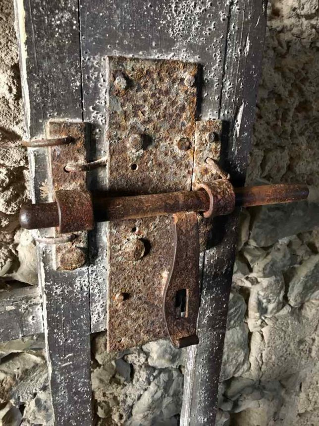 Cell door lock-Chateau d'If (J. Chung)