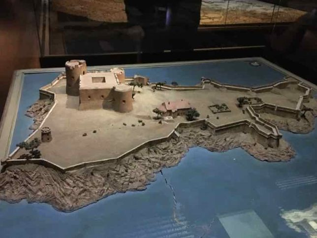 Chateau d'If at the Paris Relief Map Museum (J. Chung)