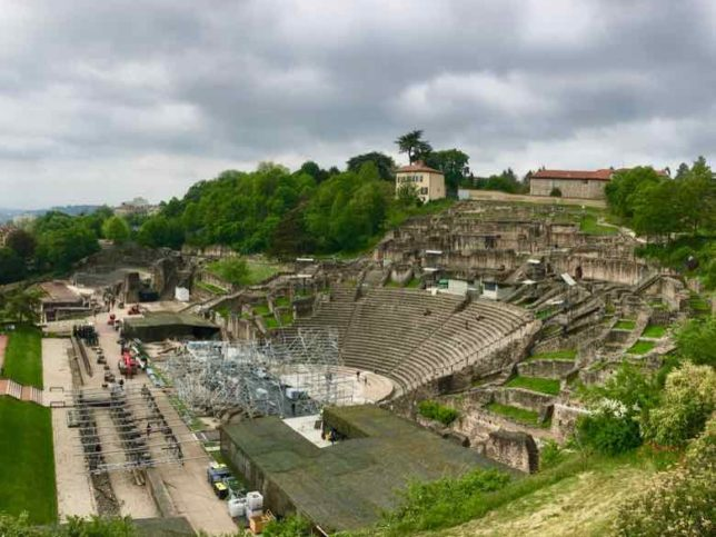 Lyon Roman Amphitheatre- Ancient Theatre of Fourviere (J. Chung)