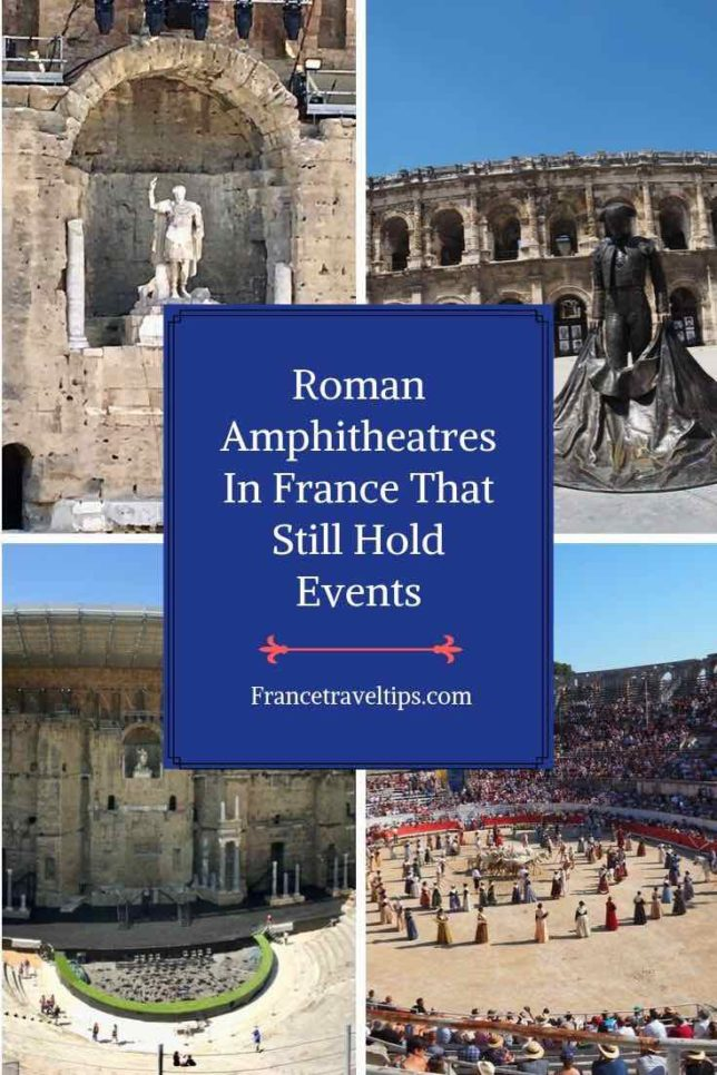 Roman Amphitheatres In France That Still Hold Events