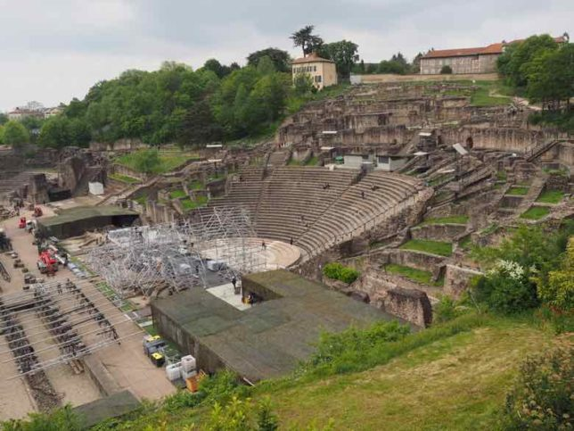 Ancient Theatre of Fourviere, Lyon (J. Chung)