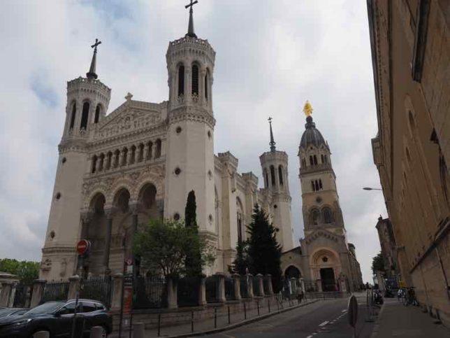 Basilica of Notre-Dame de Fourviere, Lyon (J. Chung)