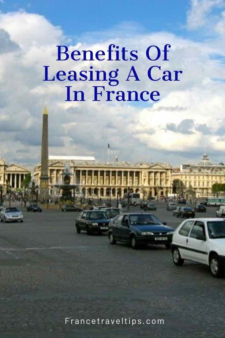 Benefits of leasing a car in France