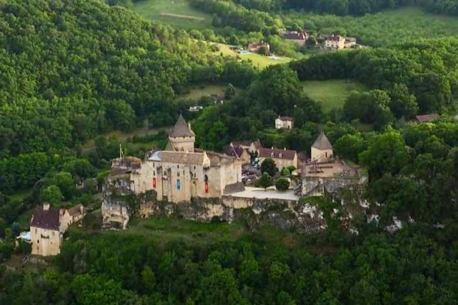 Chateau de Castelnaud (J. Chung)