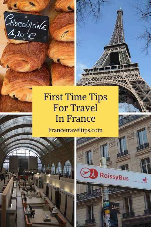First time tips for travel in France