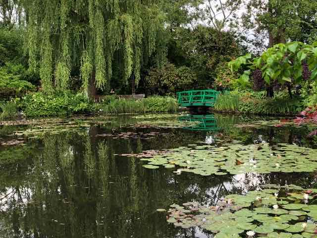 Monet's garden in Giverny (@L. Gee)