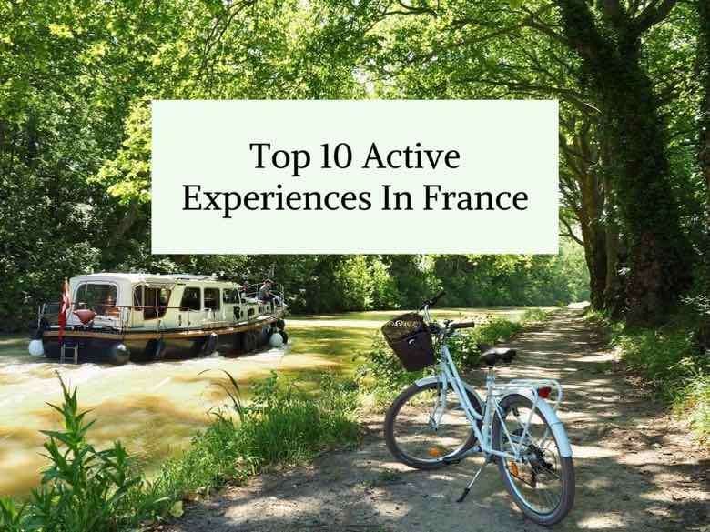 Top 10 Active Experiences In France