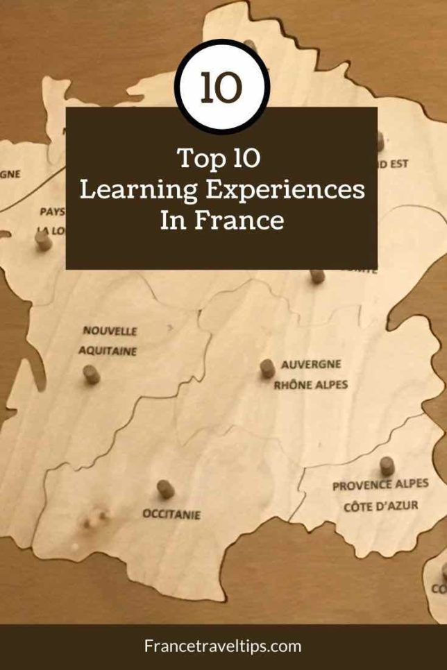 Top 10 Learning Experiences In France