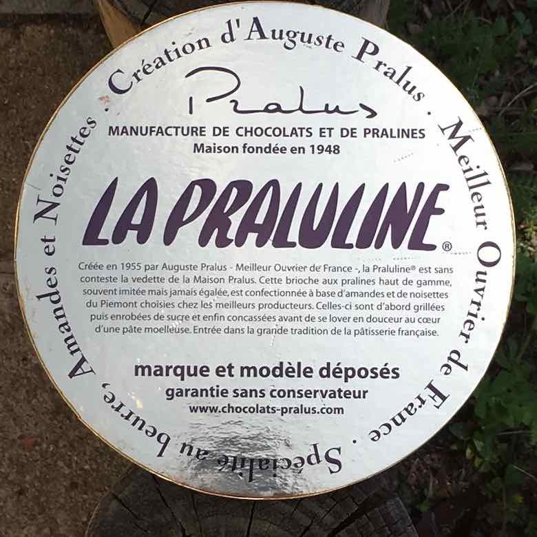 La Praluline cake board (J. Chung)