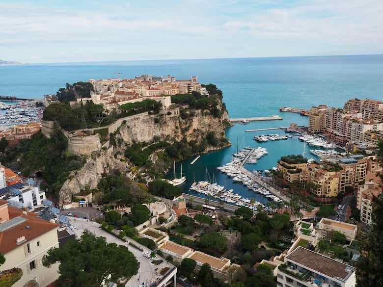 View from Jardin Exotique de Monaco (J .Chung)