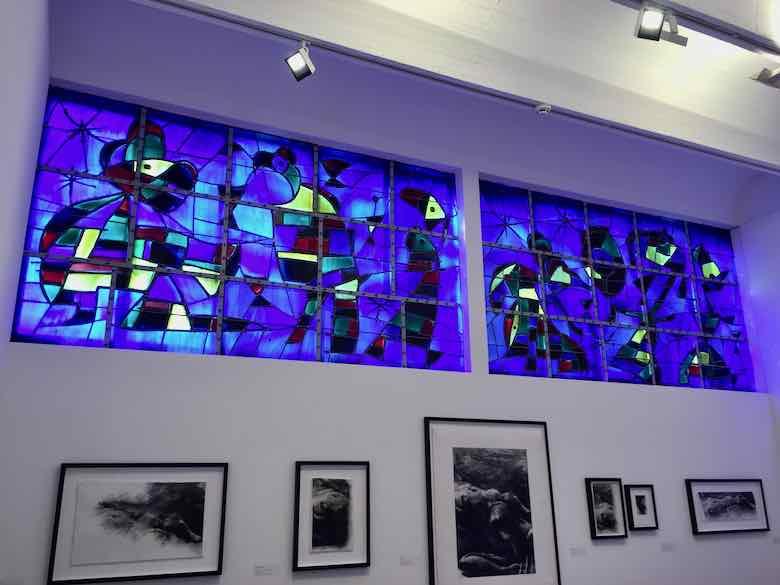 Barcelone by Joan Miro-Fondation Maeght (J. Chung)