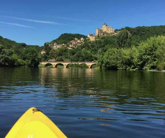 Kayaking On The Dordogne River (J. Chung)