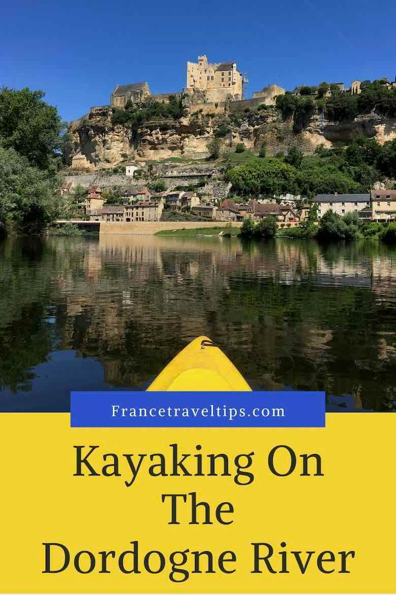Kayaking On The Dordogne River