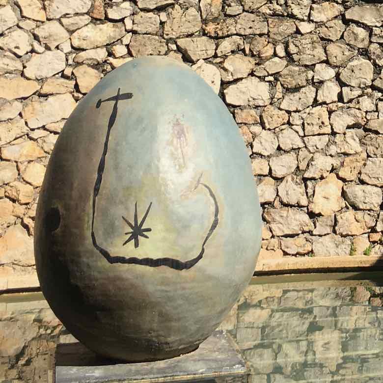 L'OEuf by Joan Miro-Fondation Maeght (J. Chung)