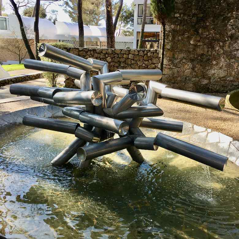 La Fontaine by Pol Bury-Fondation Maeght (J.. Chung)