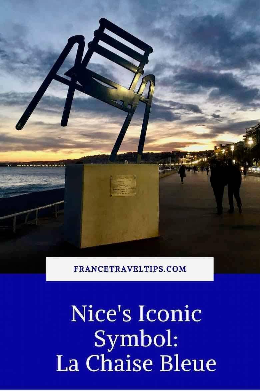 Nice's Iconic symbol- La Chaise Bleue