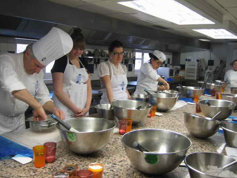 Secrets of macarons course at Le Cordon Bleu (J .Chung)