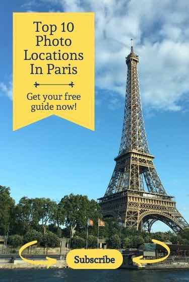Top 10 Photo Locations In Paris Opt in