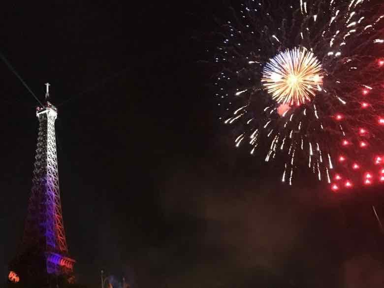 Bastille Day Fireworks (2019) (J. Chung)