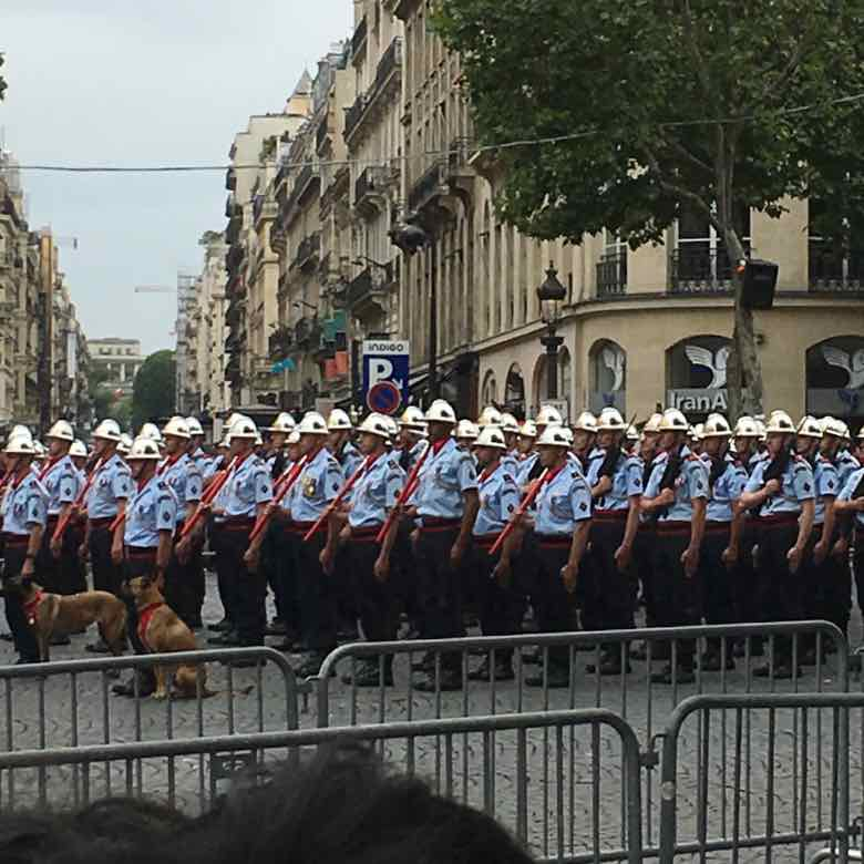Firefighters-Bastille Day Parade (2019)