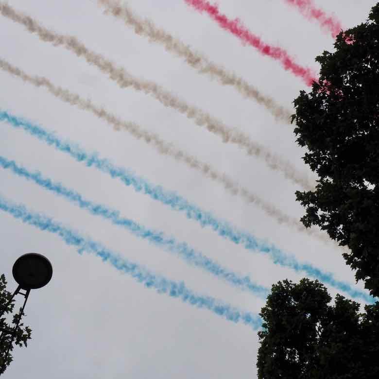 Flyover-Bastille Day Parade (J Chung)
