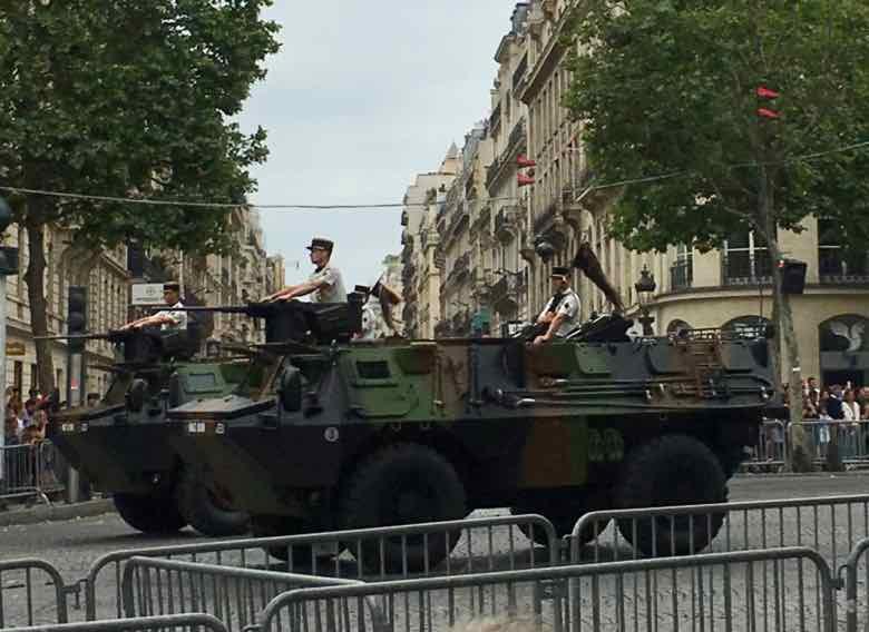 Military tank-Bastille Day Parade (2019)