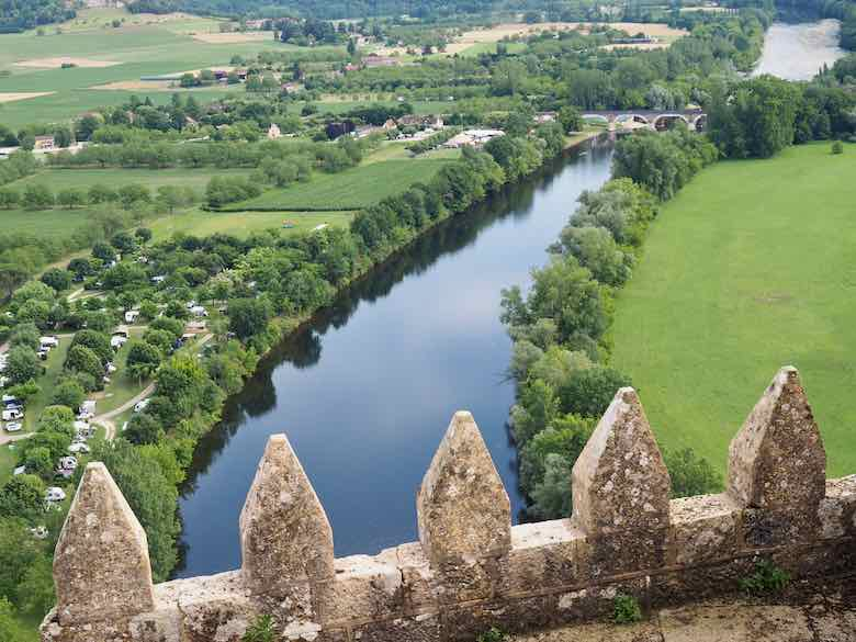 View from Château de Beynac, Nouvelle-Aquitaine (J. Chung)