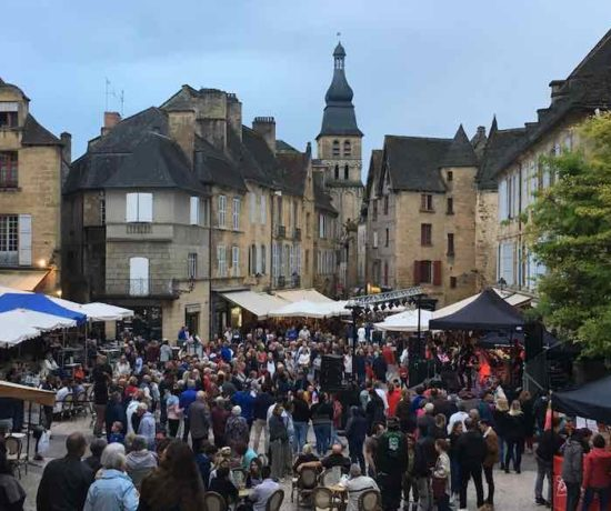 World music day in Sarlat (J. Chung)