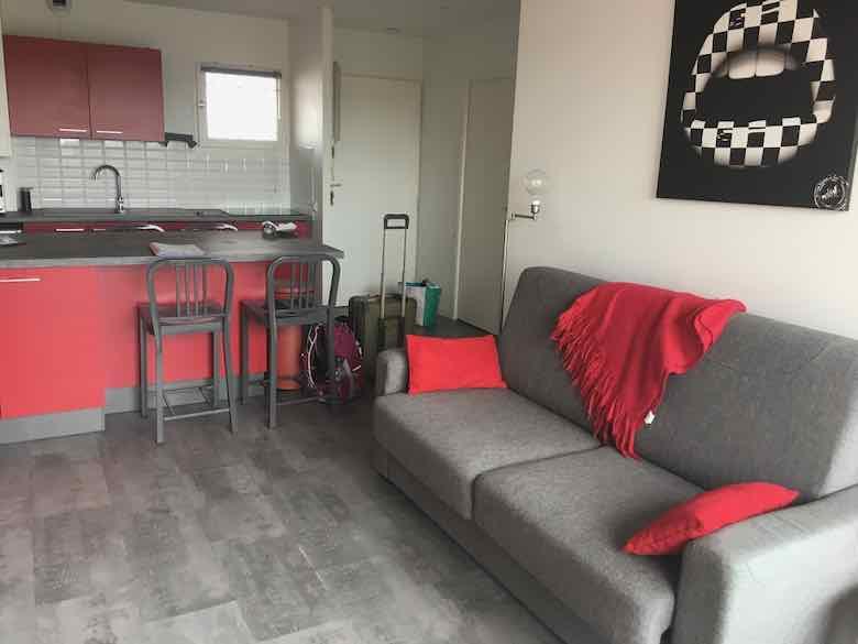 Airbnb apartment in Arcachon