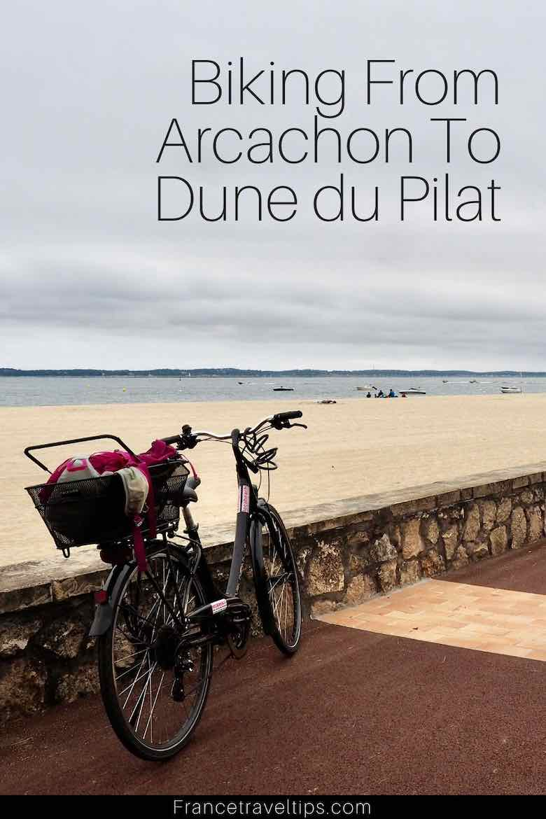 Day's outing: biking from Arcachon to Dune du Pilat (J. Chung)