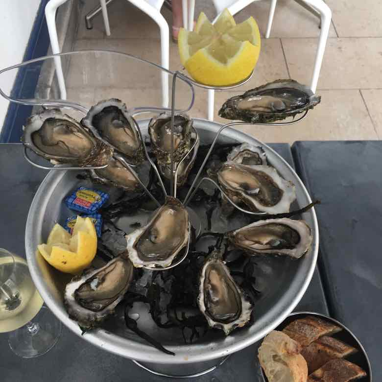 Oysters at La Saison 3 (J. Chung)