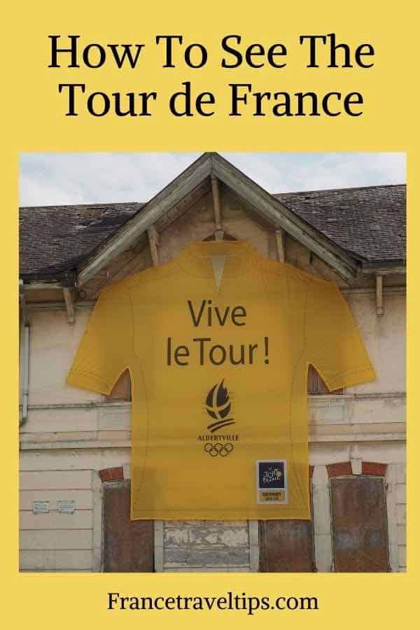 How to see the Tour de France