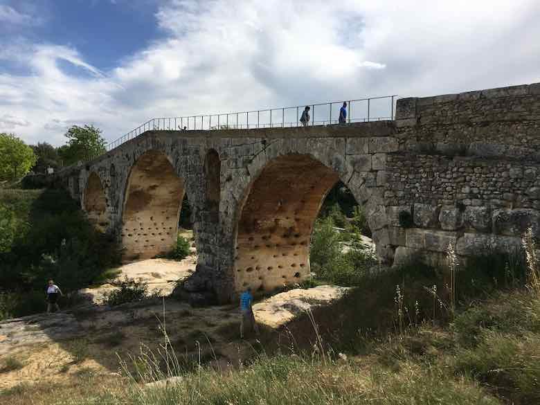 Crossing Pont Julien On The Via Domitia (J. Chung)