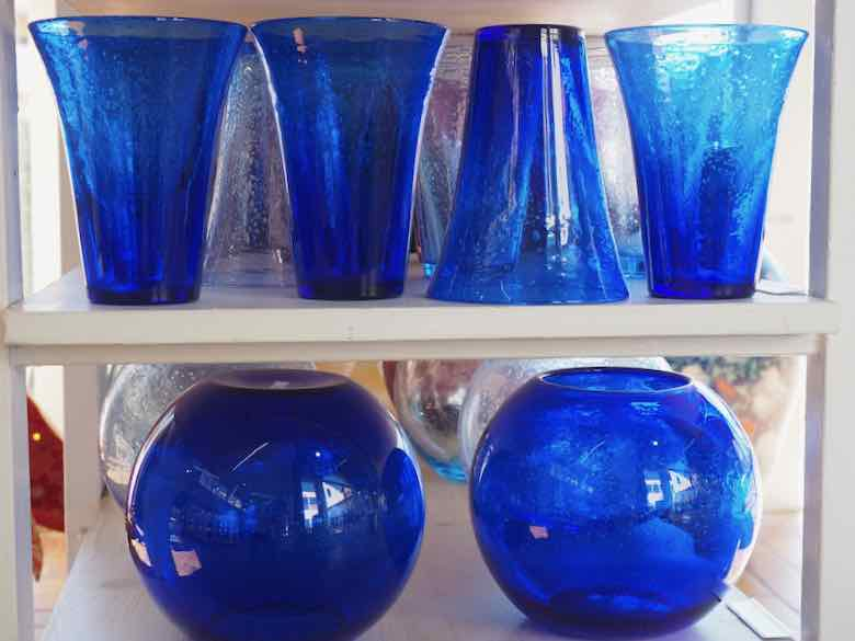 Biot Glass at La Verrerie de Biot (J. Chung)