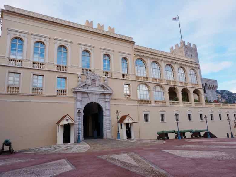 Chateau Grimaldi-Prince's Palace Of Monaco