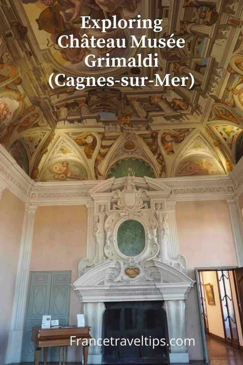 Exploring Chateau Musee Grimaldi and Cagnes sur Mer