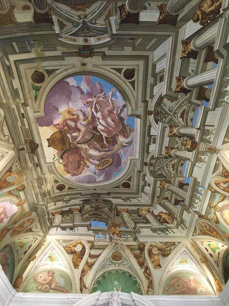 Inside Chateau Musee Grimaldi (J. Chung)