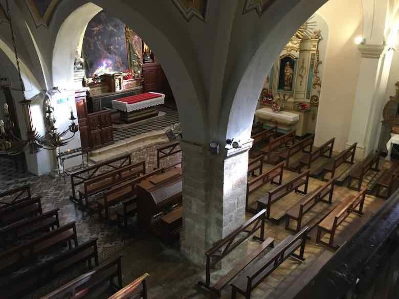 Inside Eglise Saint Pierre-Cagnes sur Mer (J. Chung)